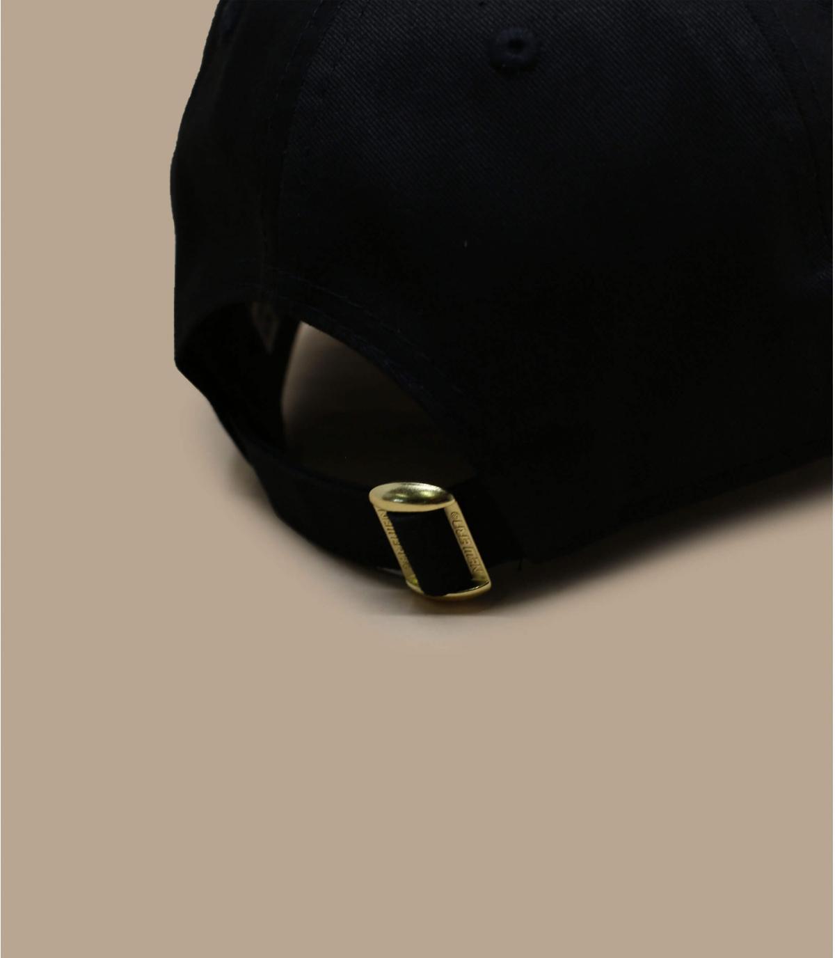 Détails Casquette Metallic Logo 940 Bulls black gold - image 4