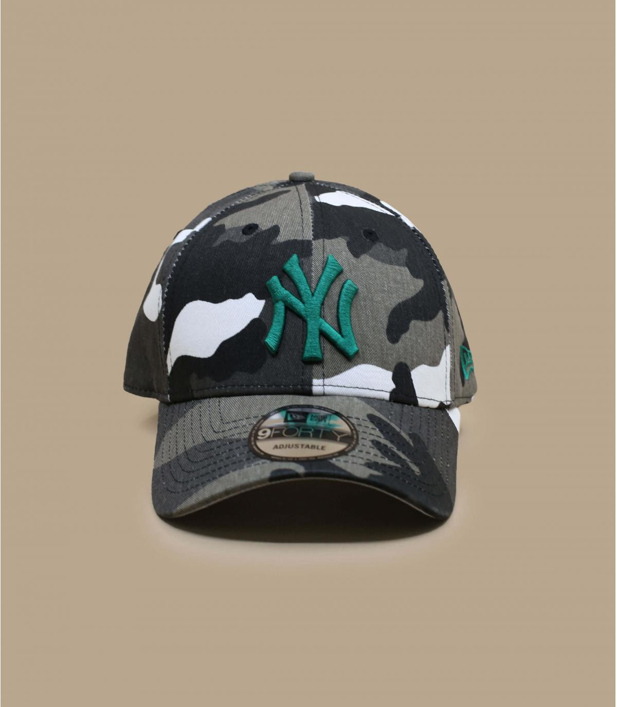 Détails Casquette All Over Camo 940 NY urban vital green - image 2
