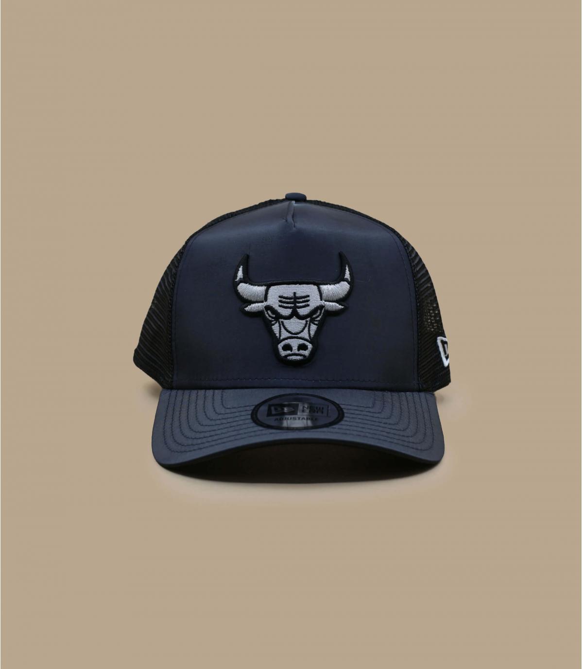 trucker Bulls noir argent