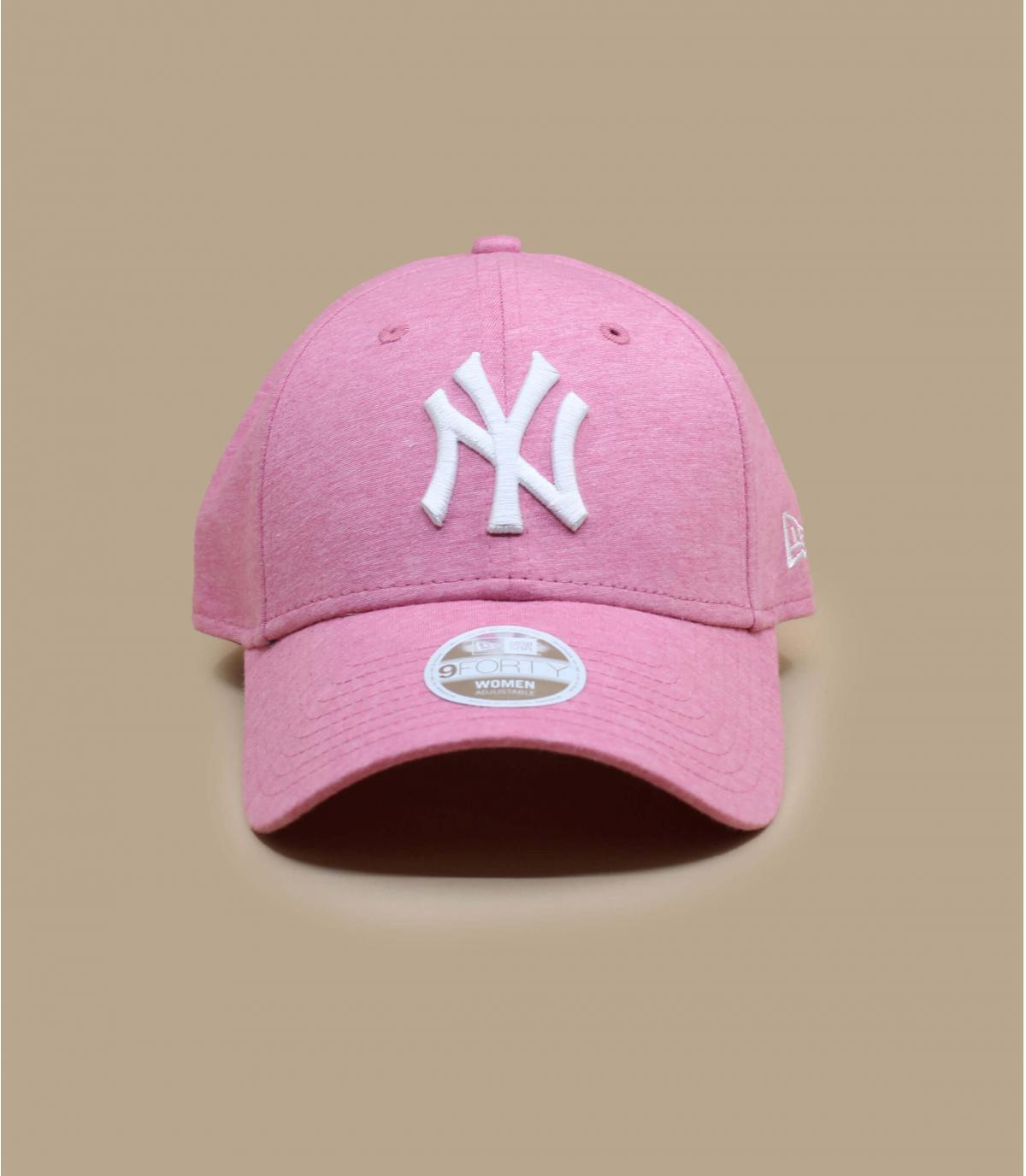 casquette NY femme rose