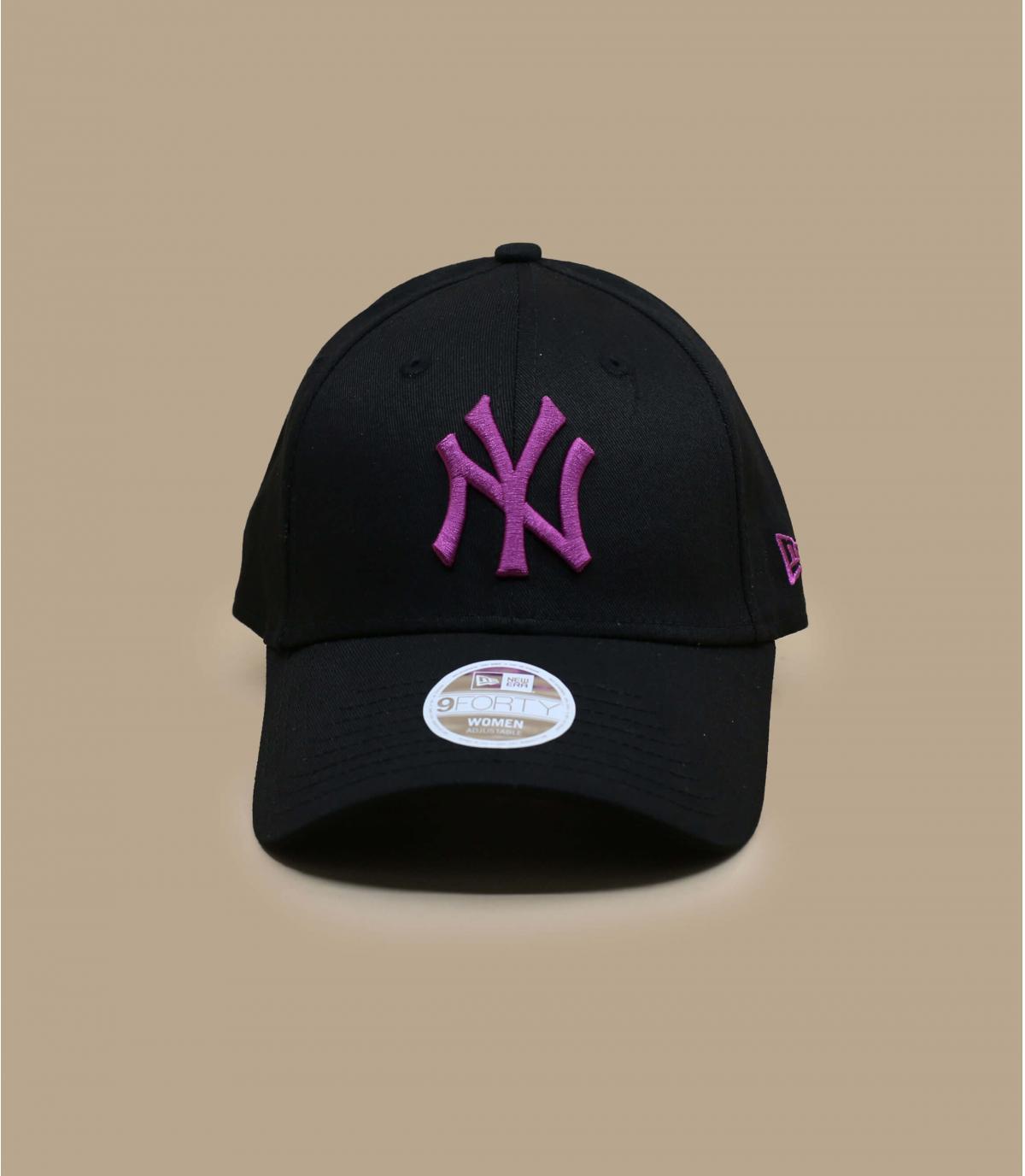 casquette NY femme noir