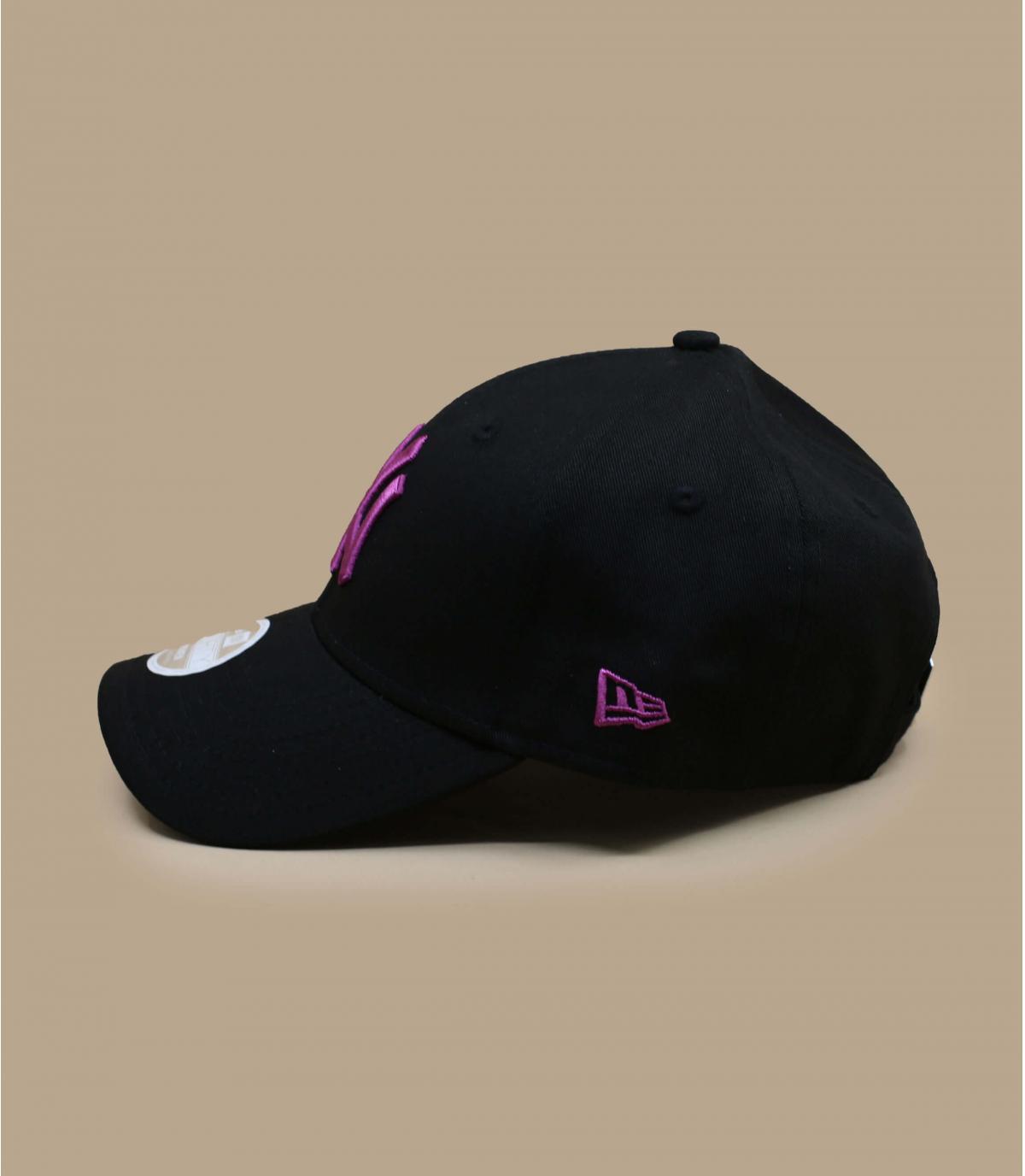 Détails Casquette Wmn Colour Ess NY black purple - image 3