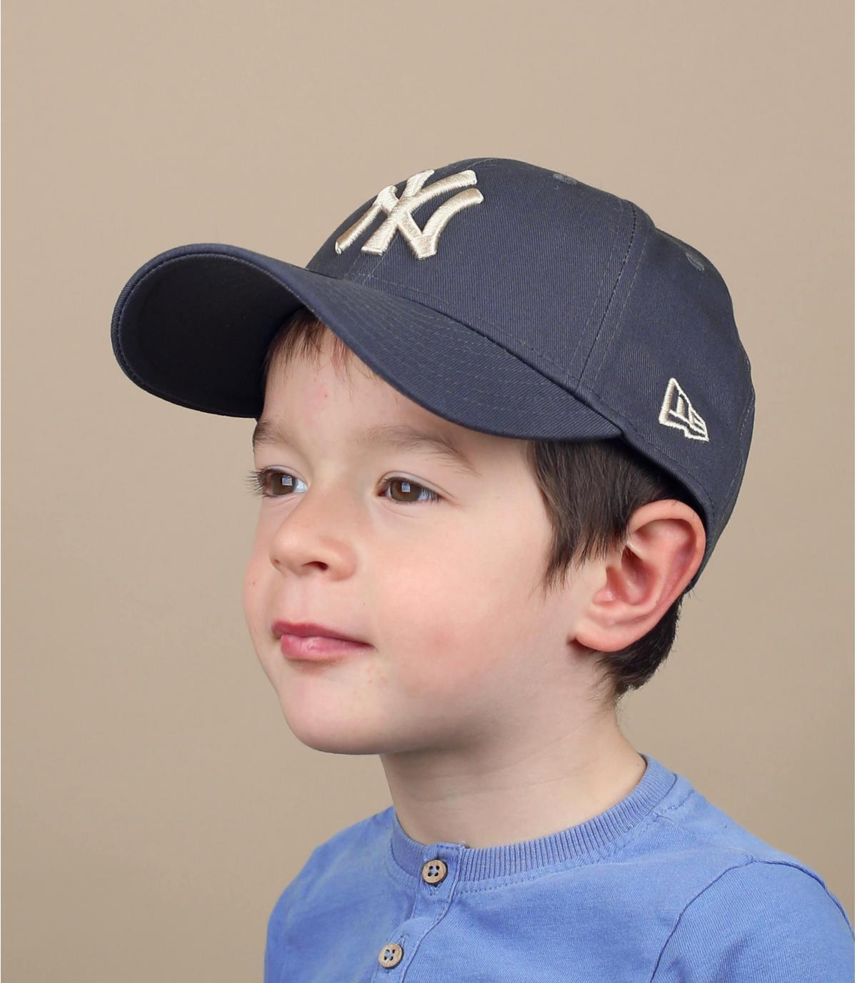 casquette enfant gris NY