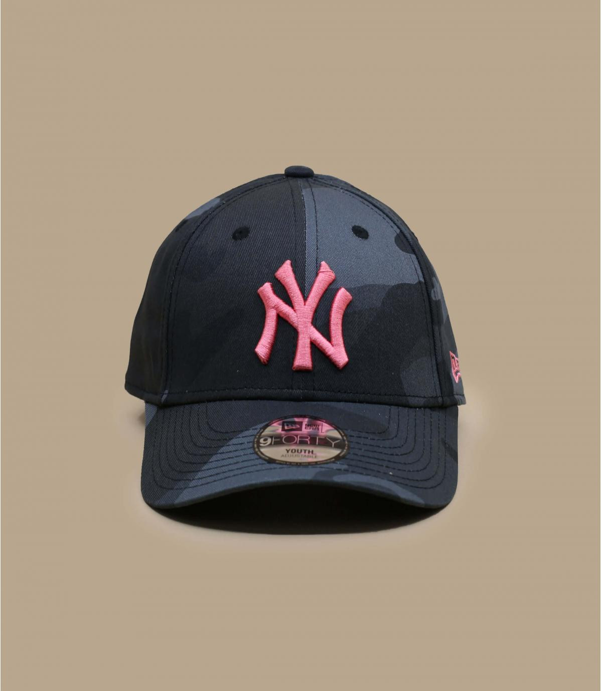 Détails Casquette Kids All Over Camo 940 NY midnight pink - image 2