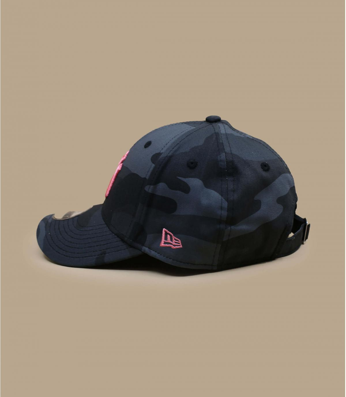 Détails Casquette Kids All Over Camo 940 NY midnight pink - image 3