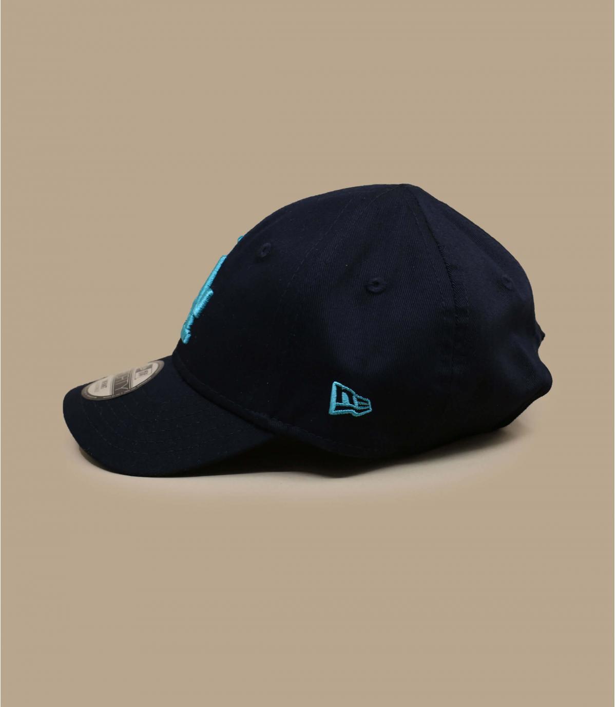 casquette LA bébé bleu