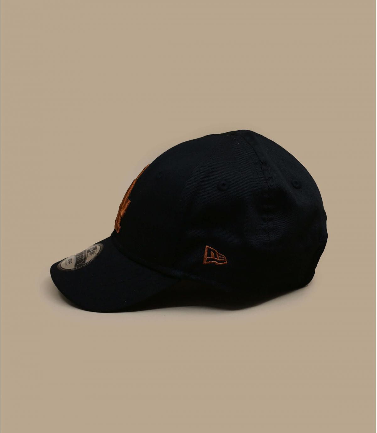 casquette bébé LA noir