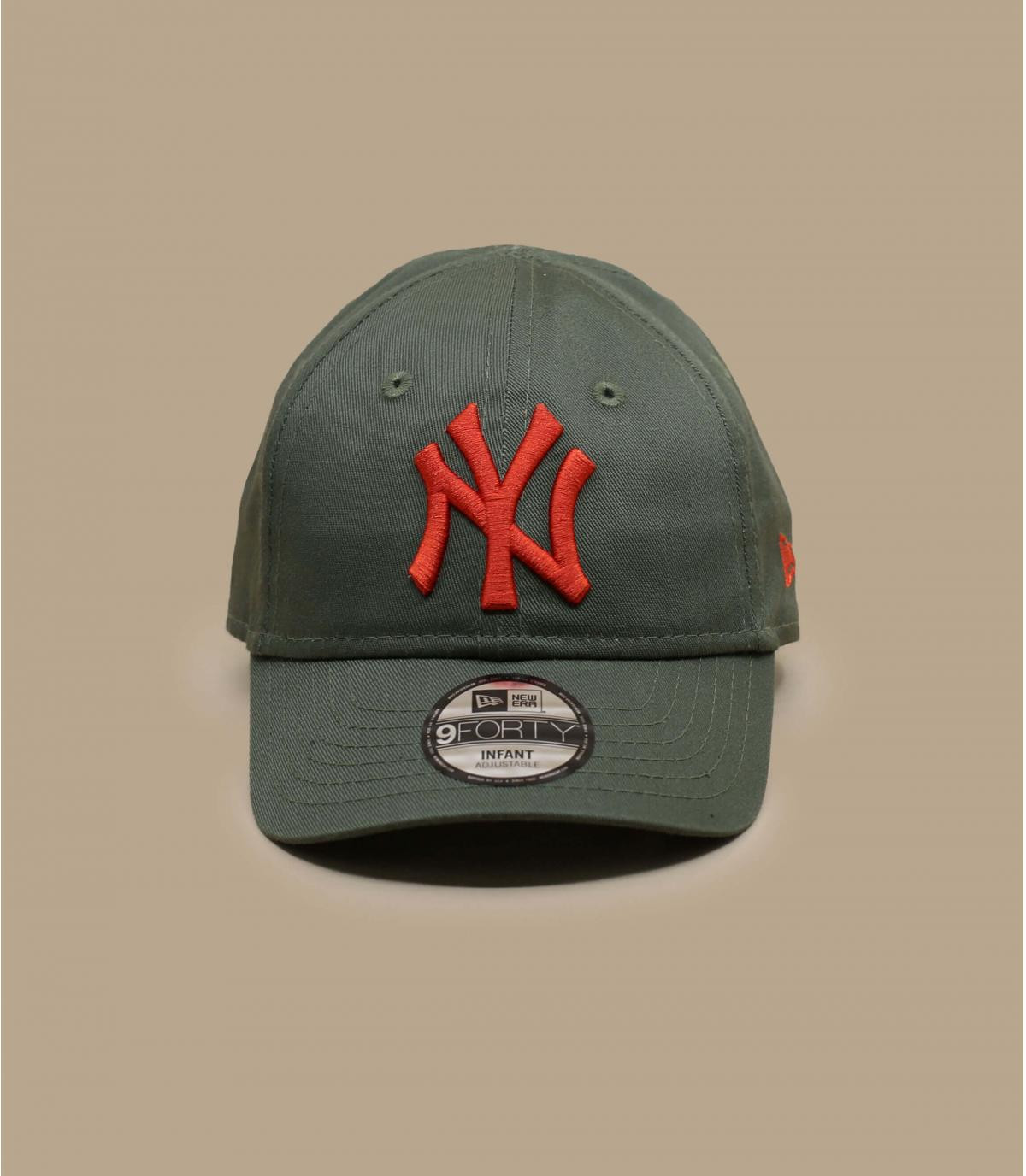 casquette bébé vert NY