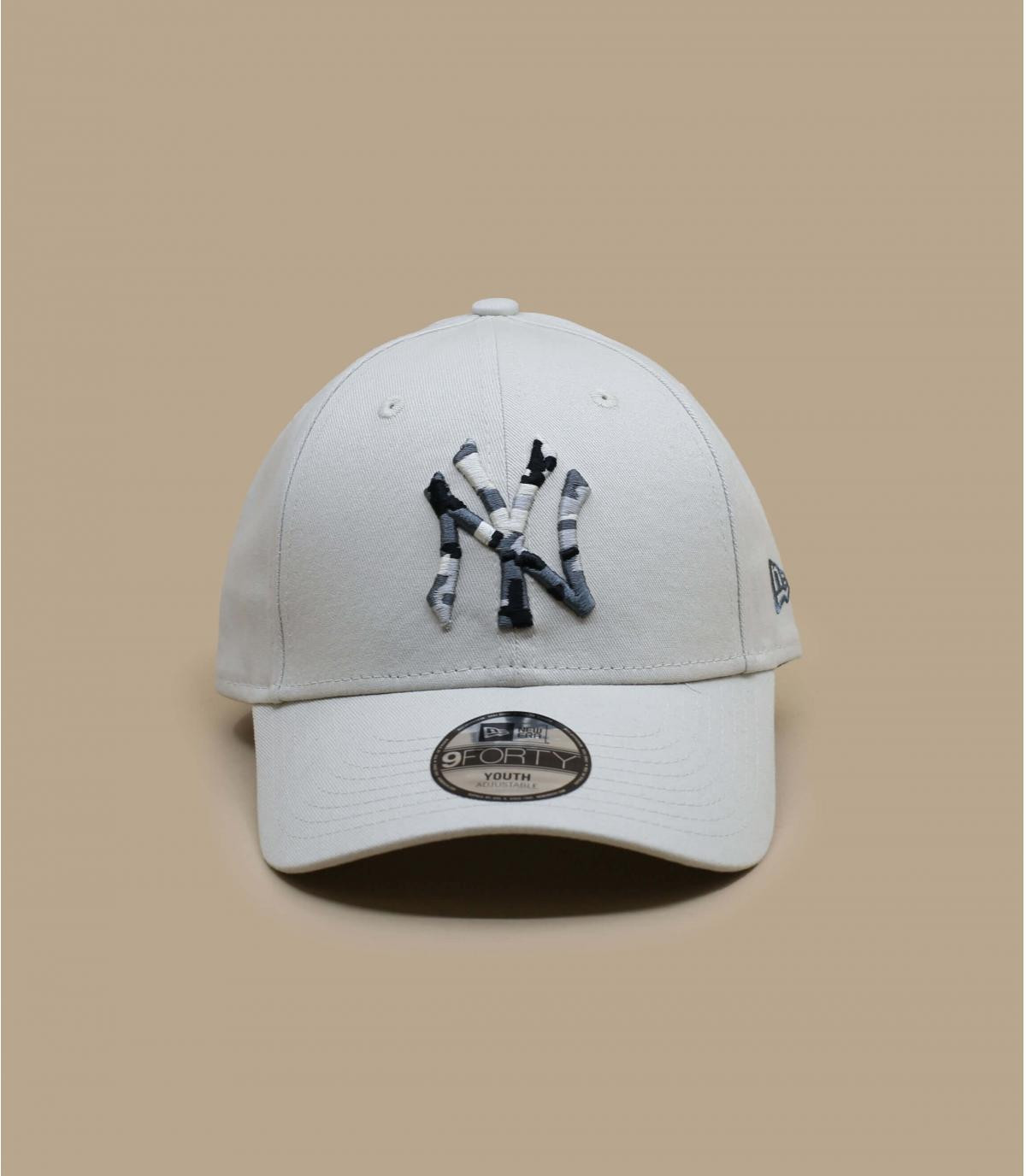 Détails Casquette Kids Camo Infill NY stone urban - image 2