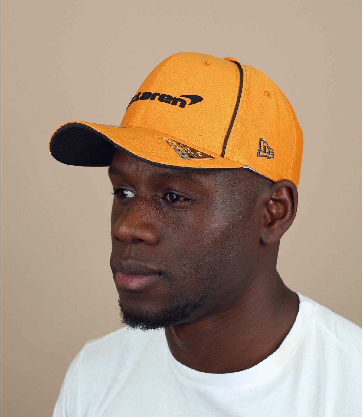 casquette Mc Laren jaune