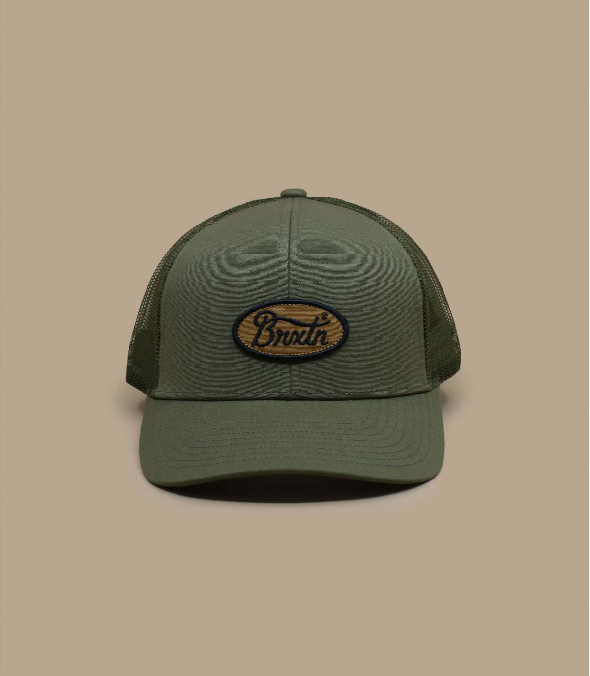 trucker Brixton vert