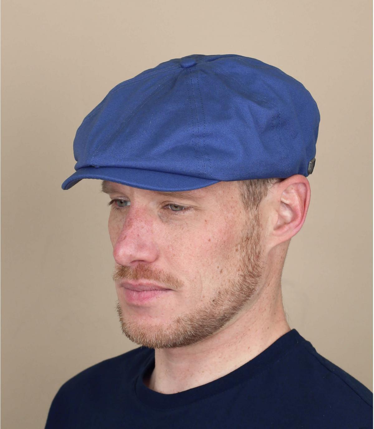 béret gavroche bleu Brixton