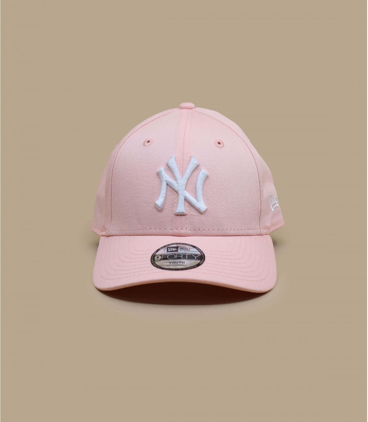 casquette enfant rose NY