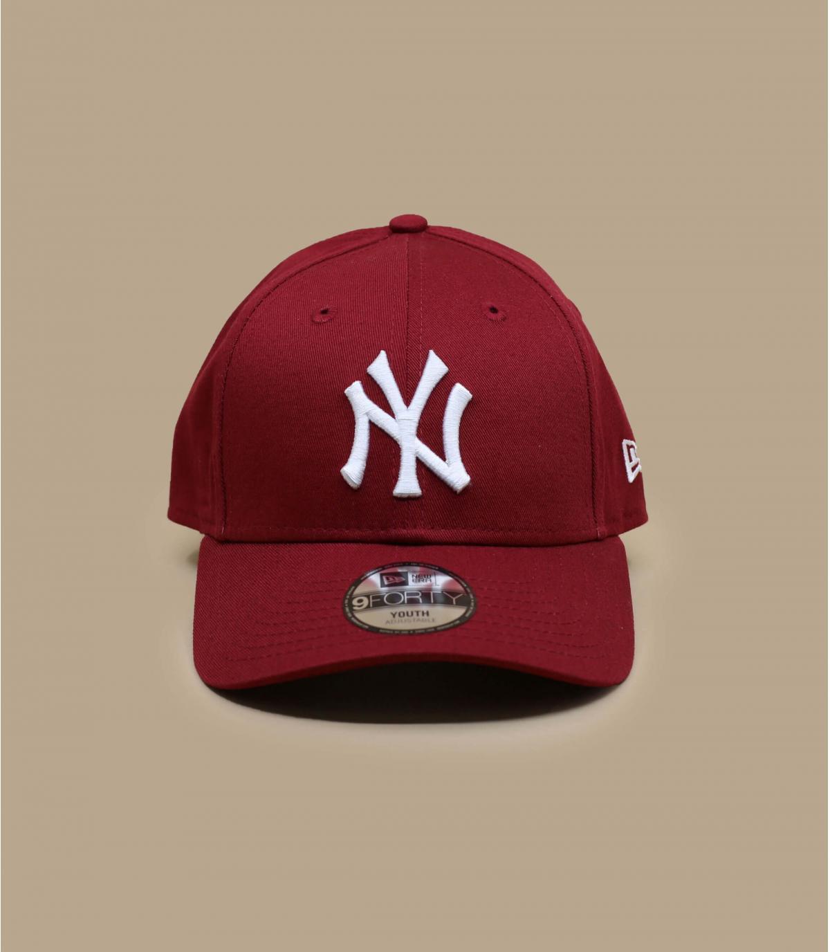 casquette NY rouge enfant
