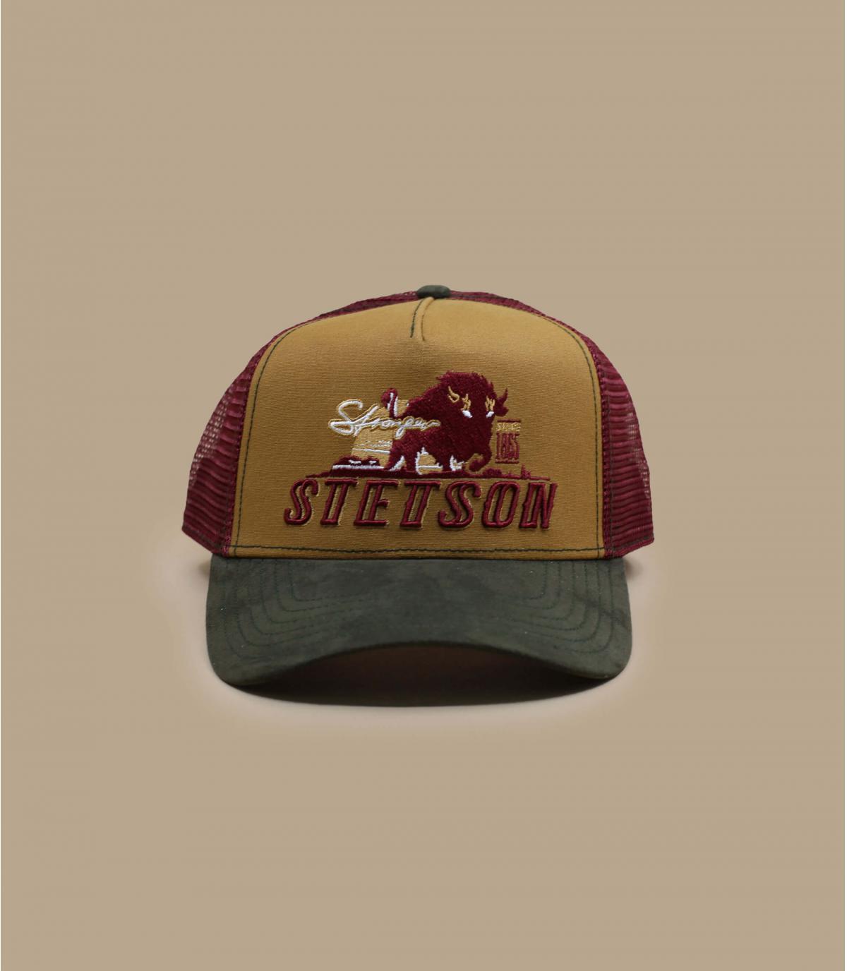 trucker bison Stetson