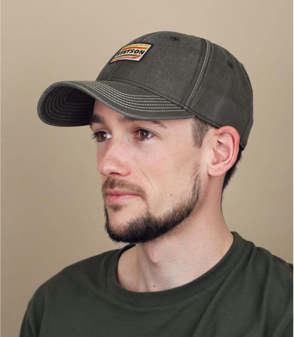 casquette Stetson gris