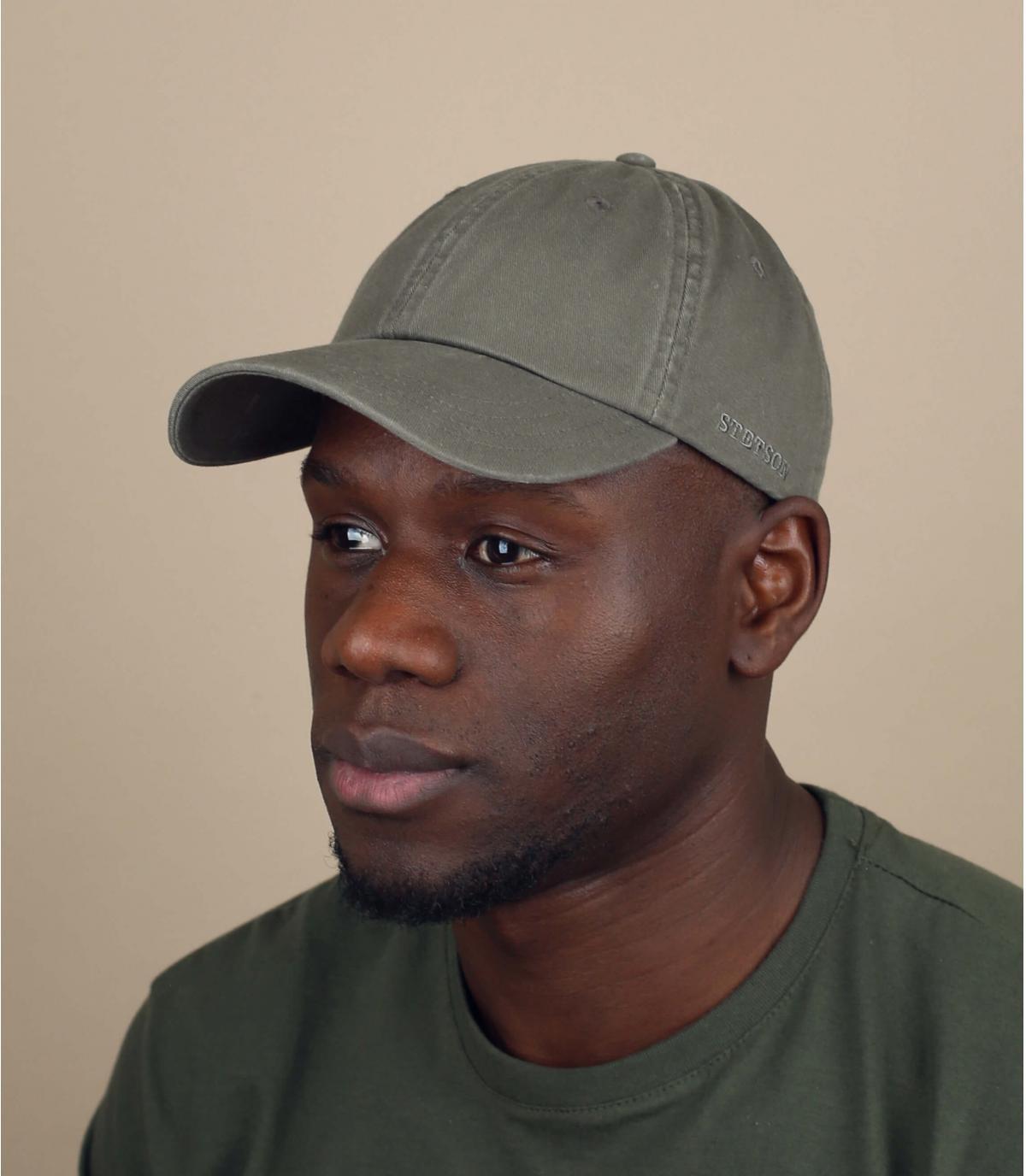 casquette Stetson vert
