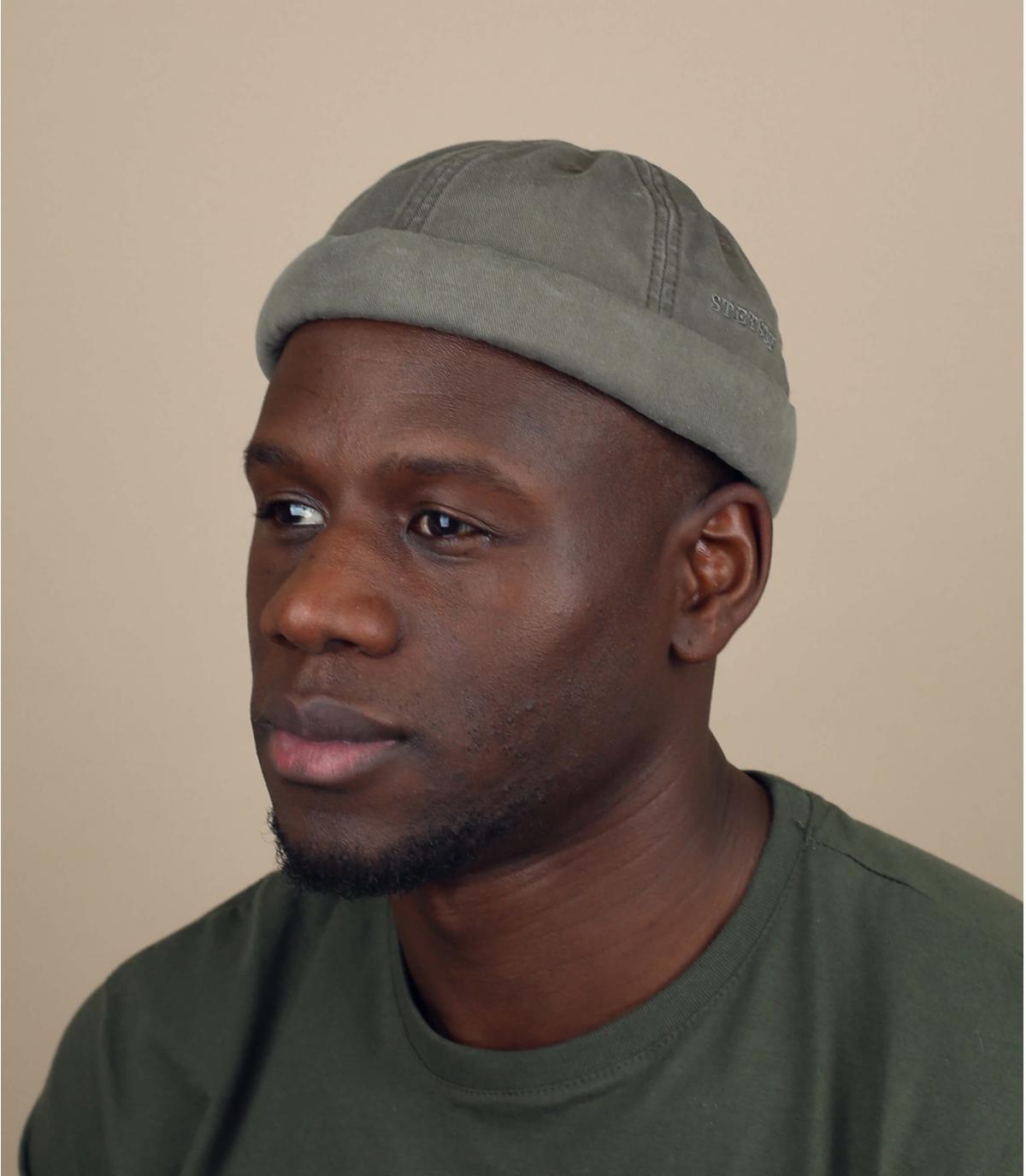 bonnet docker kakhi Stetson