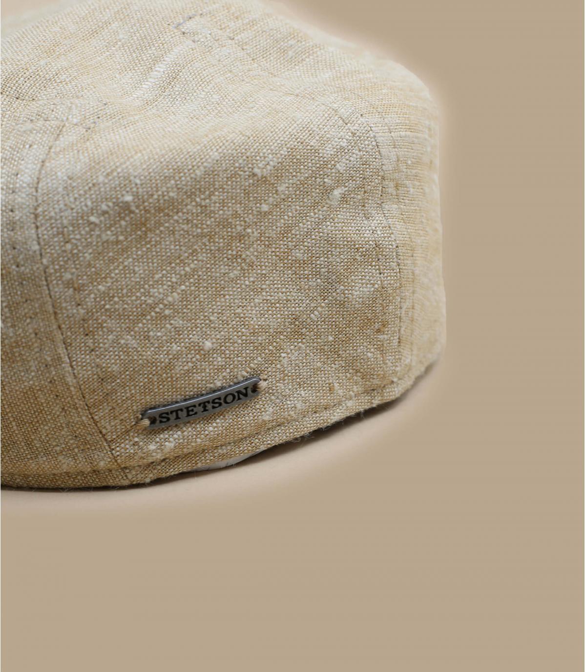 Détails Ivy Cap Linen Silk beige - image 2