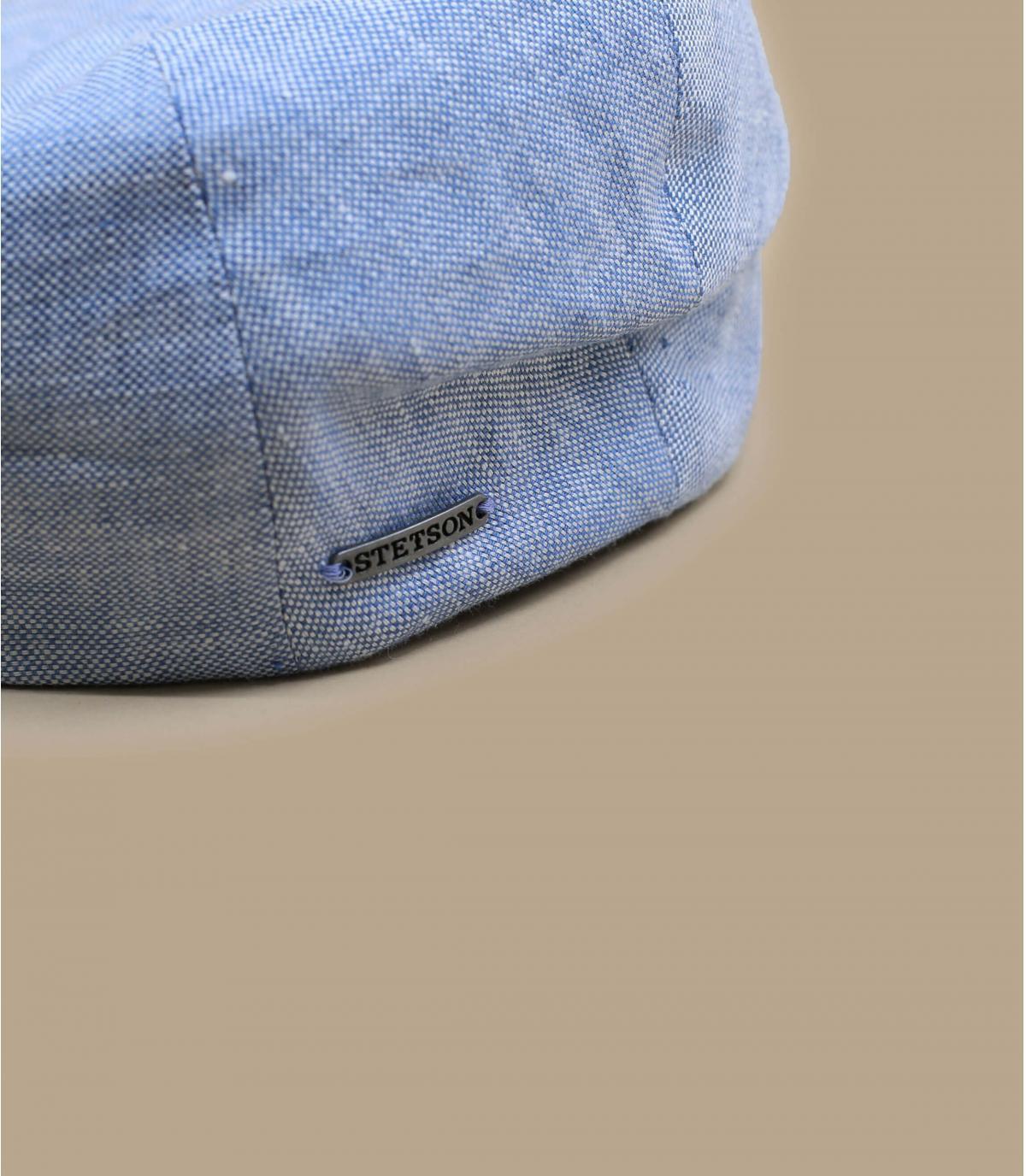 Détails Driver Cap Linen light blue - image 2