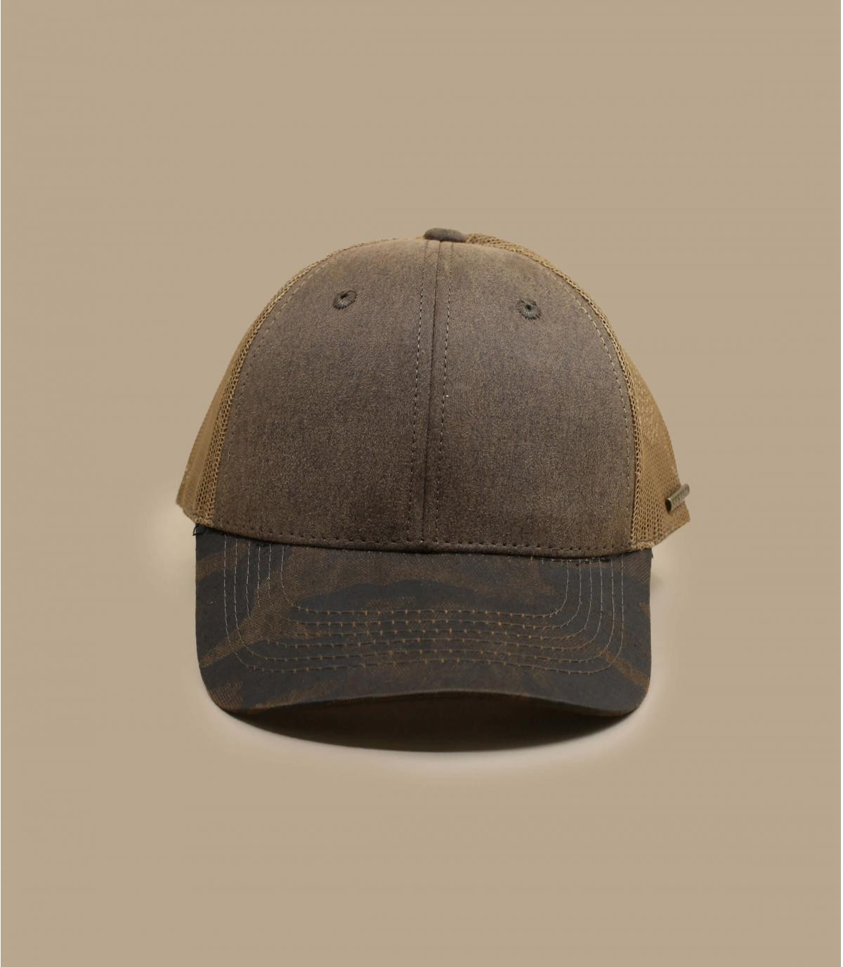 Détails Trucker CO/PES brown army - image 2