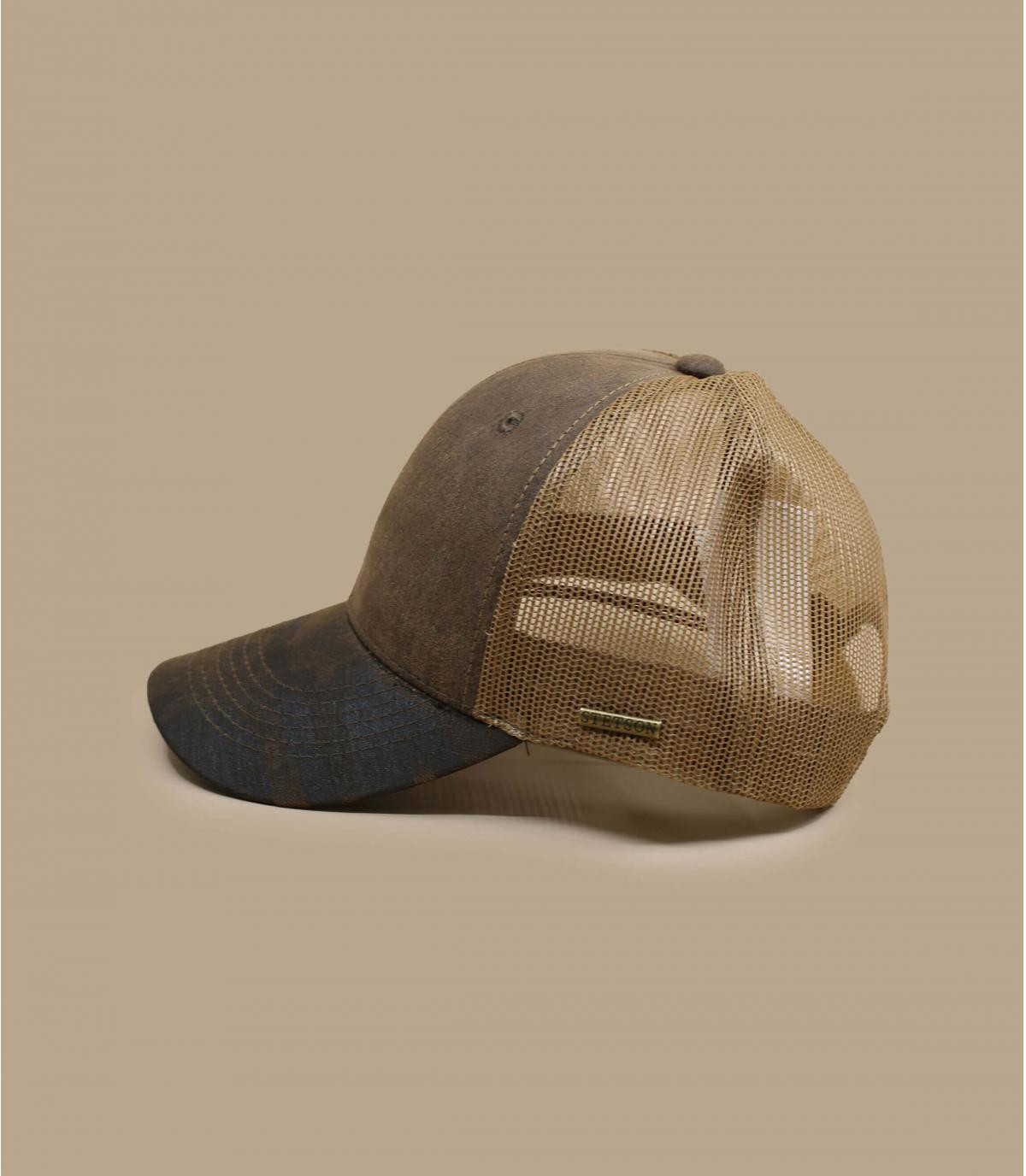 Détails Trucker CO/PES brown army - image 3