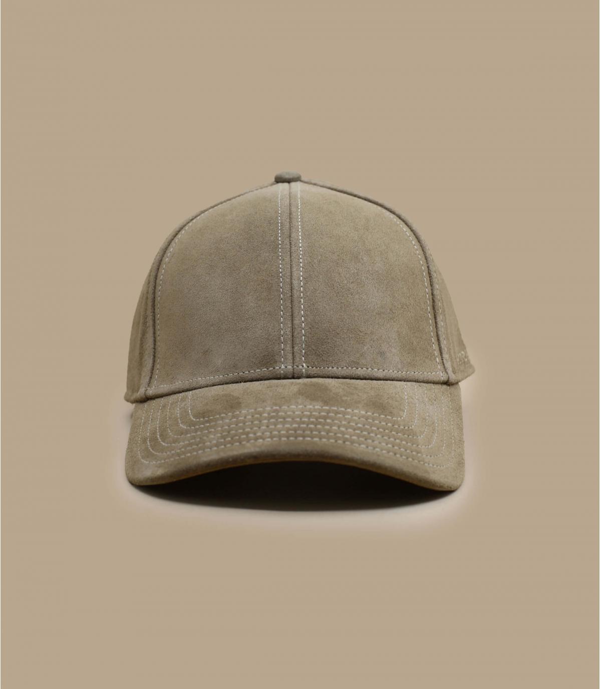 Détails Baseball Cap Calf Leather - image 2