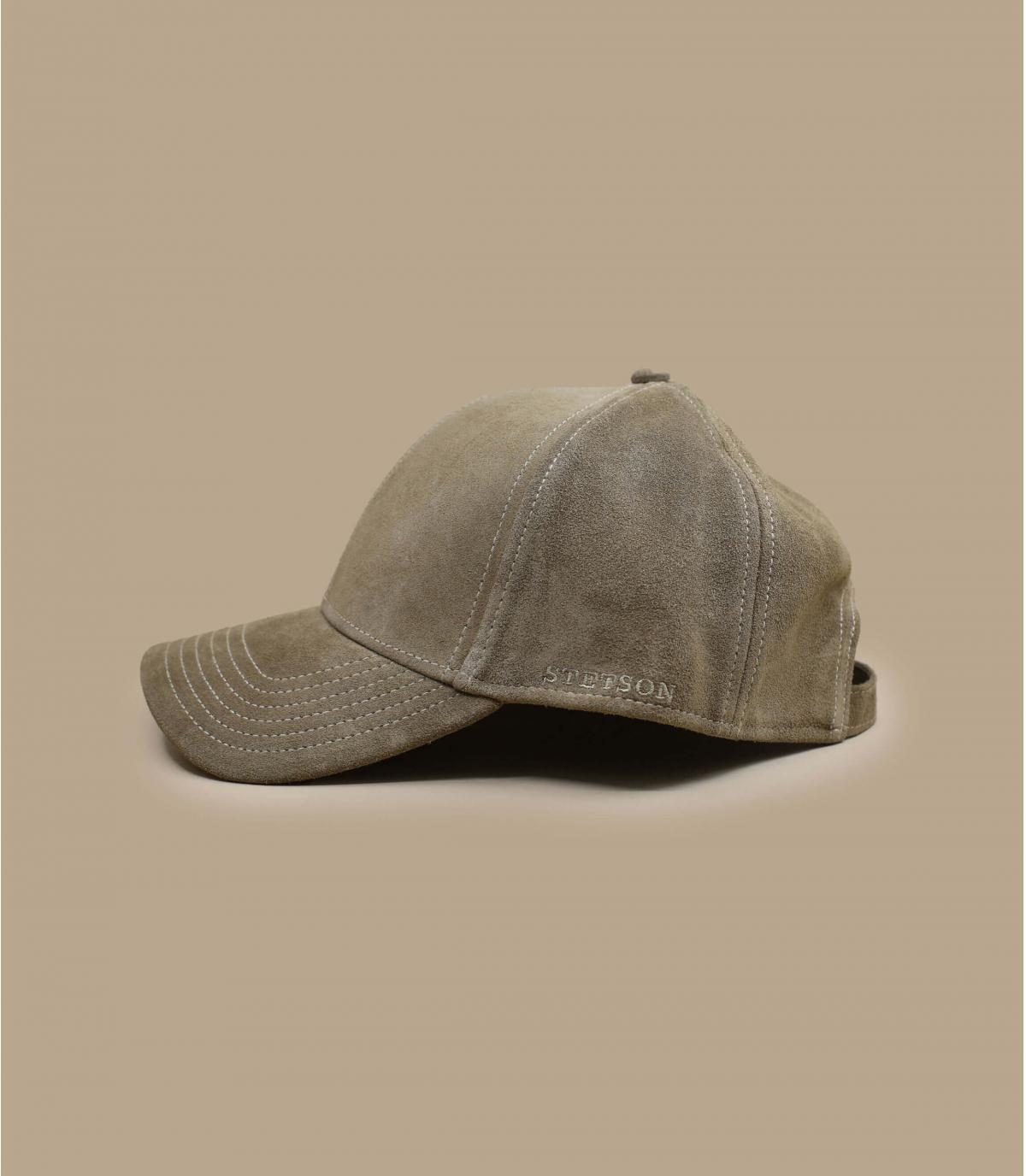 Détails Baseball Cap Calf Leather - image 3