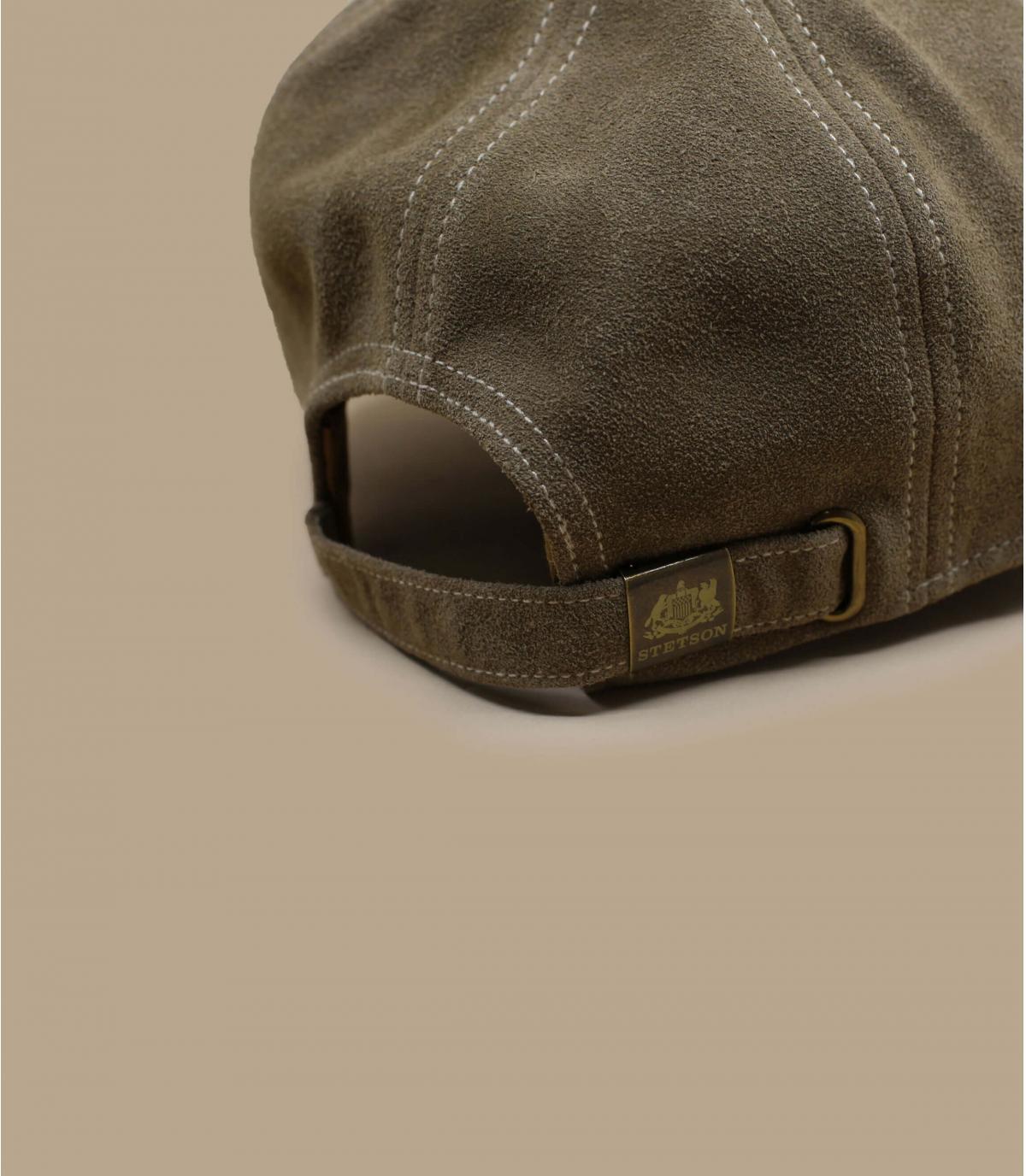 Détails Baseball Cap Calf Leather - image 4