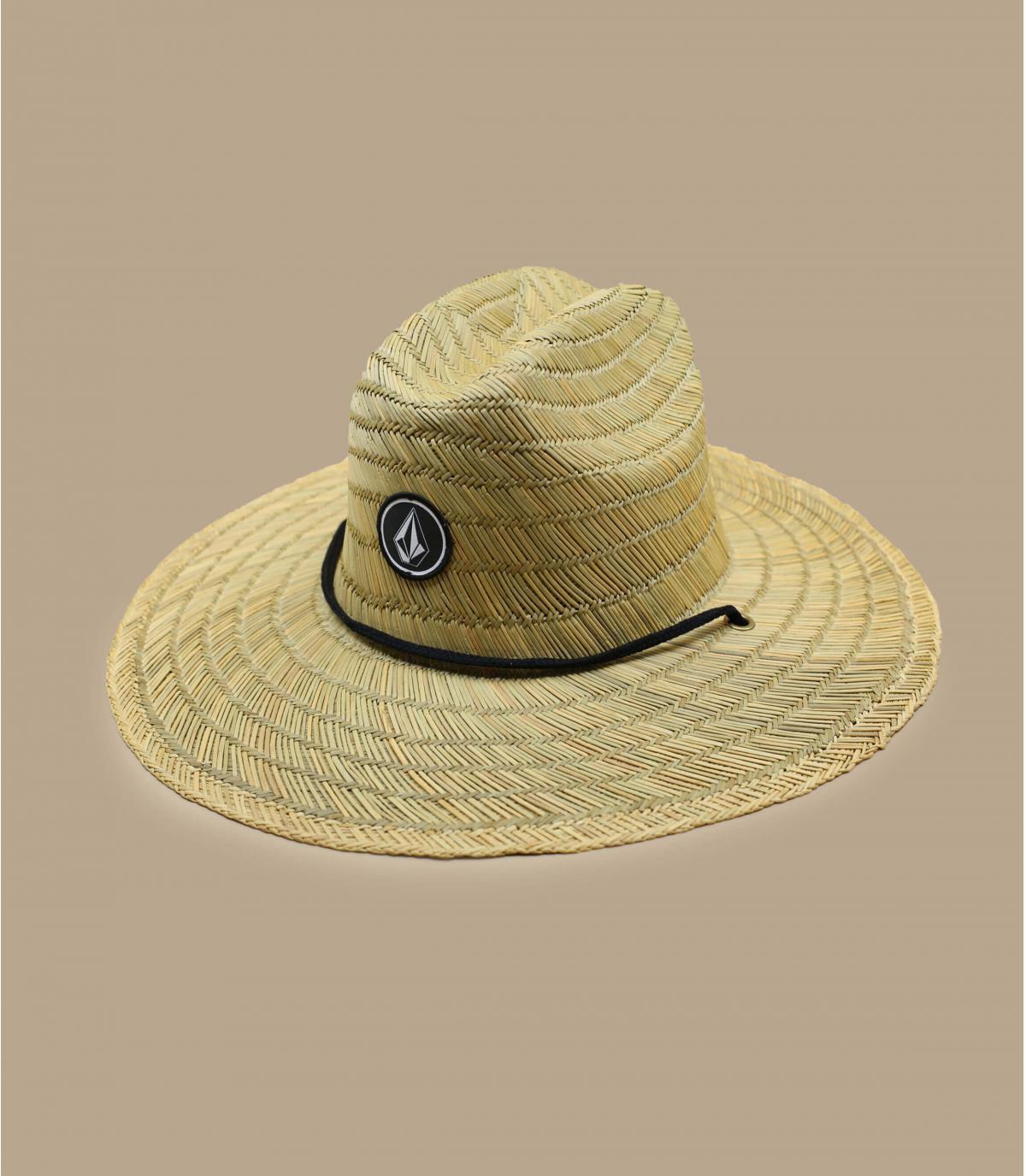 Détails Quarter Straw Hat natural - image 2