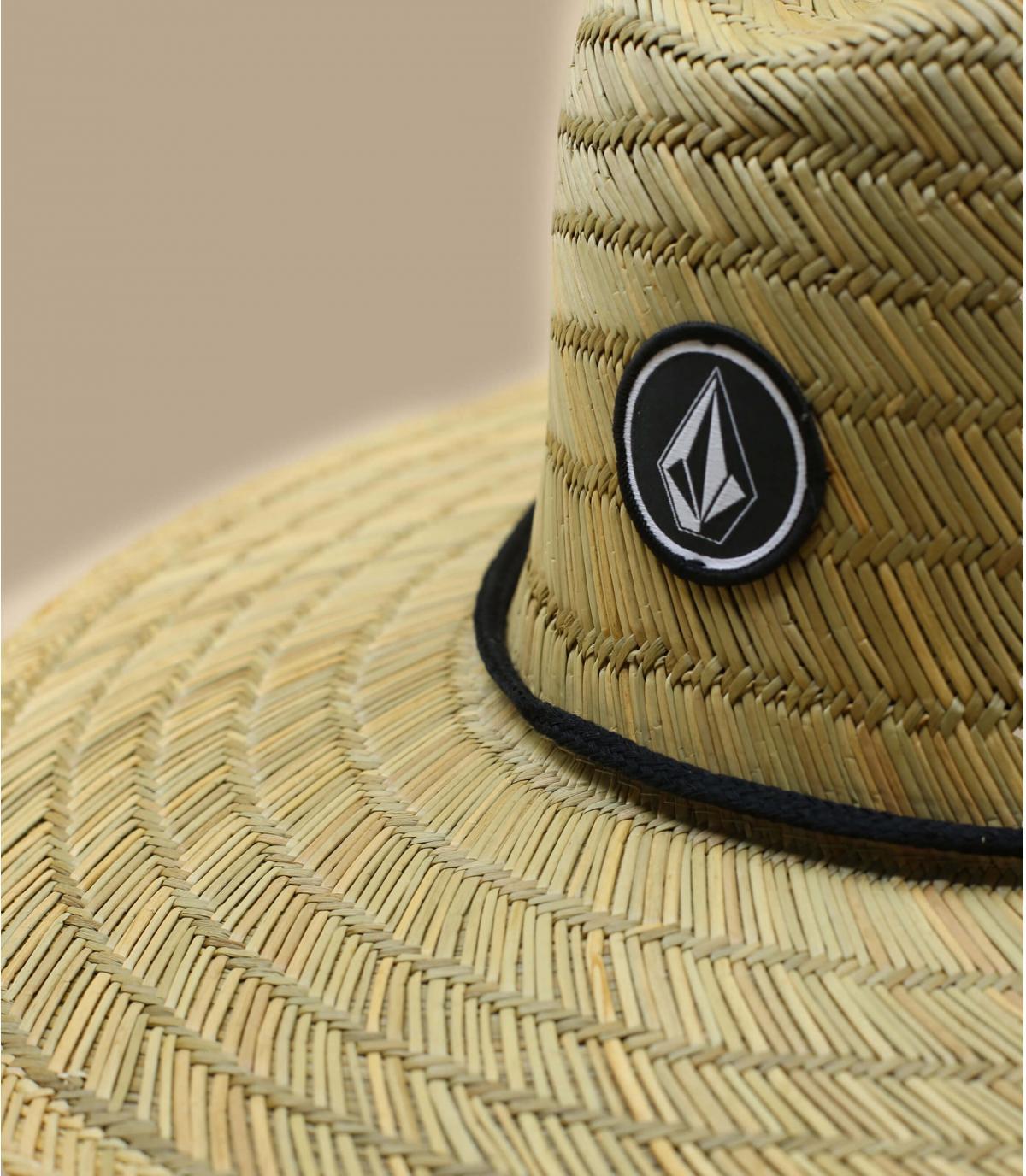 Détails Quarter Straw Hat natural - image 3