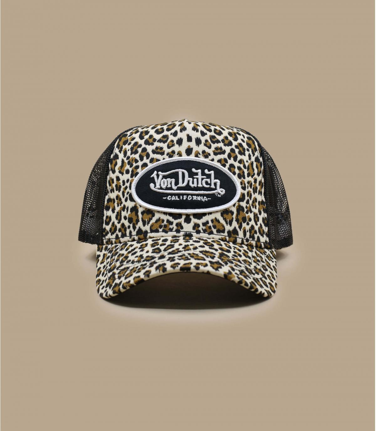 trucker leopard Von Dutch.