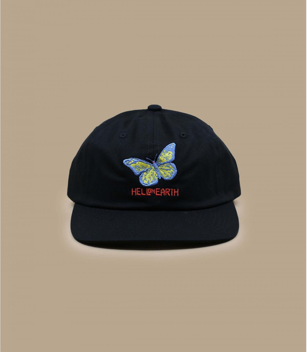 casquette Obey papillon noir