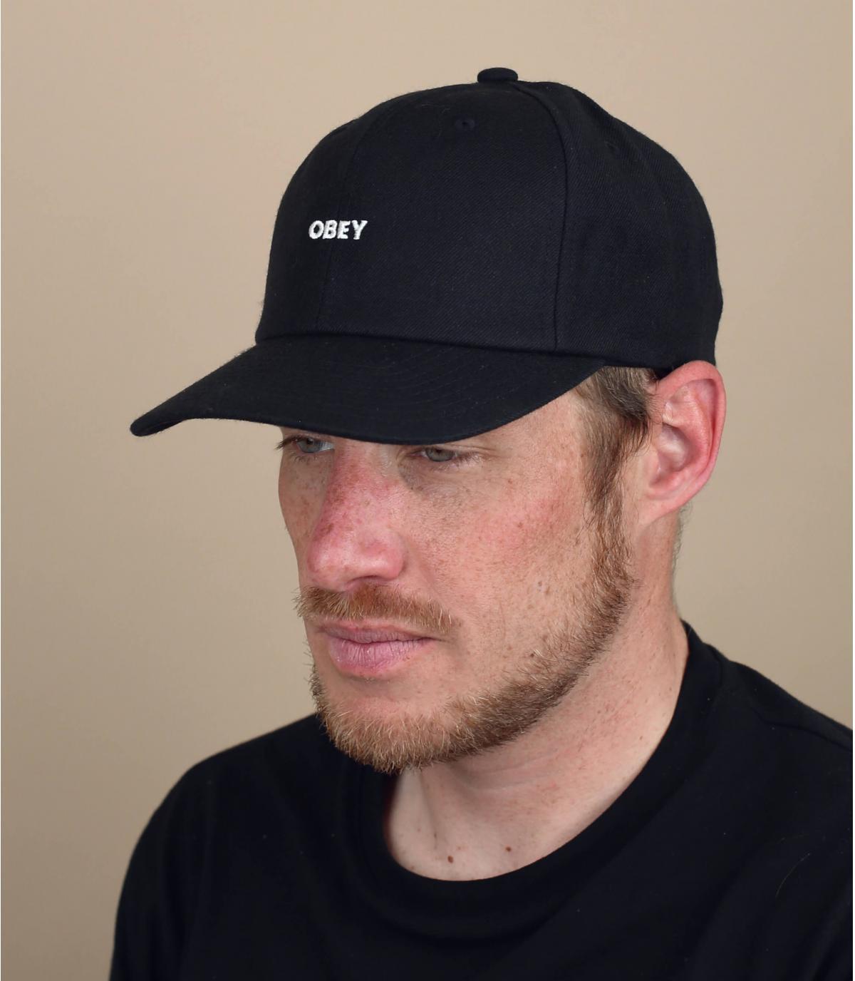 casquette Obey noir