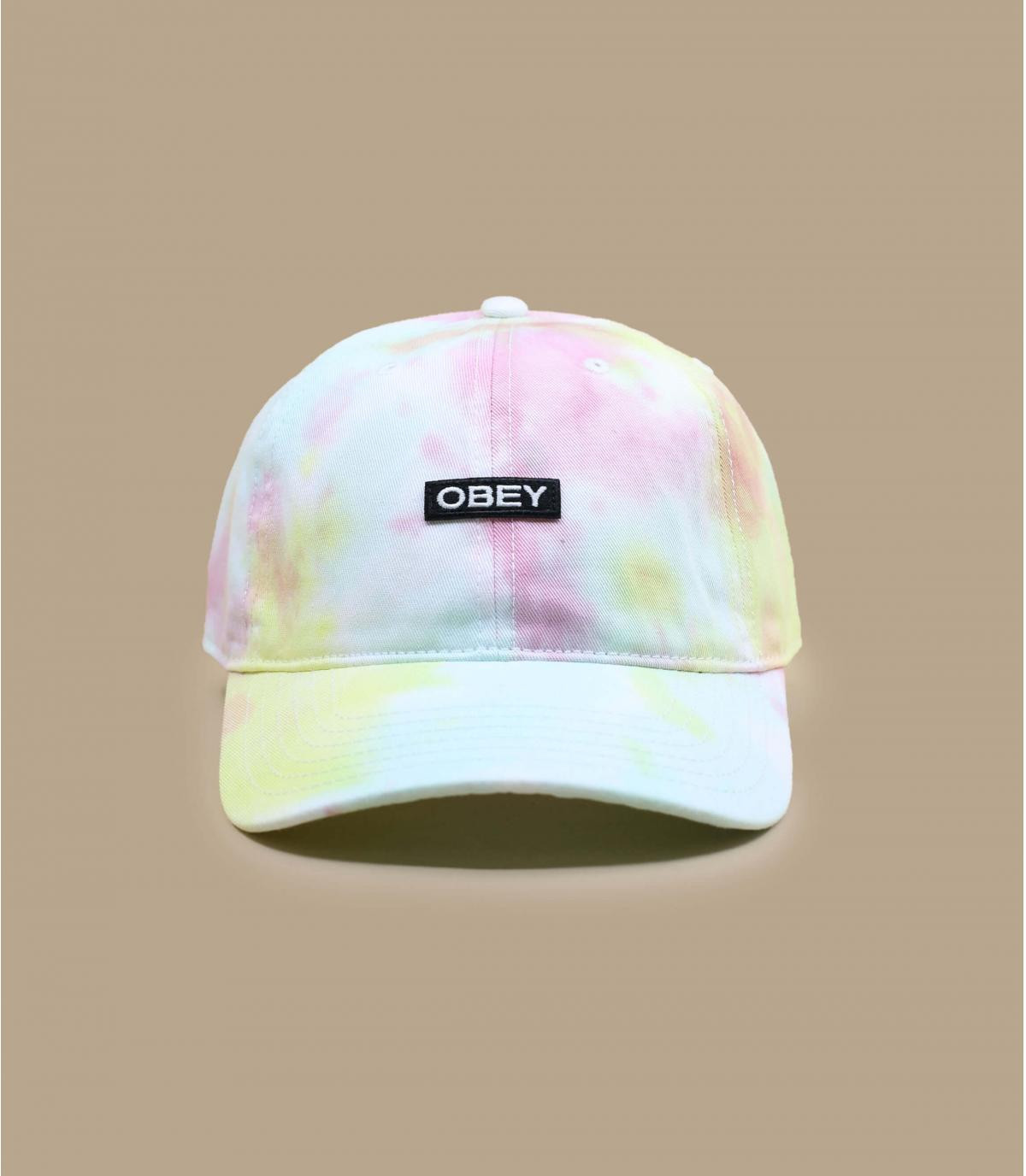 casquette tie and dye Obey