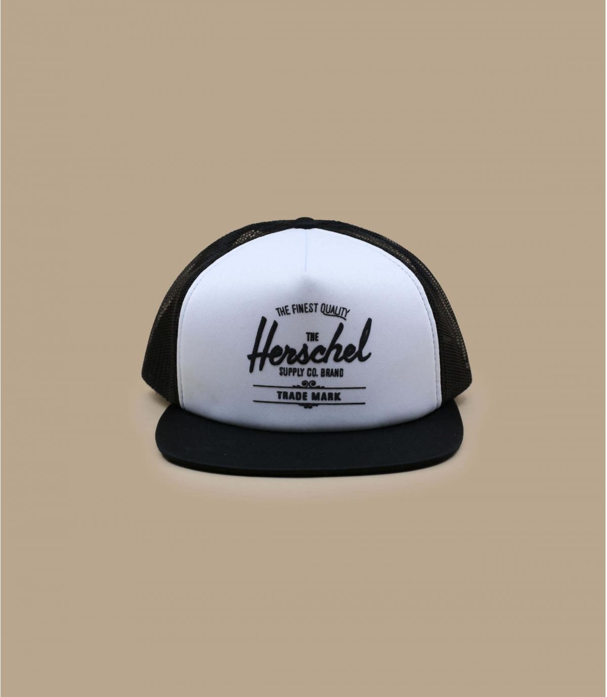 trucker Herschel noir blanc