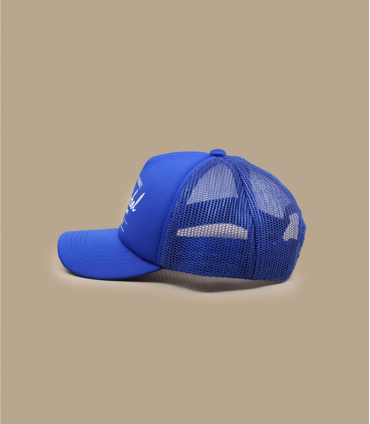 casquette bébé Herschel bleu