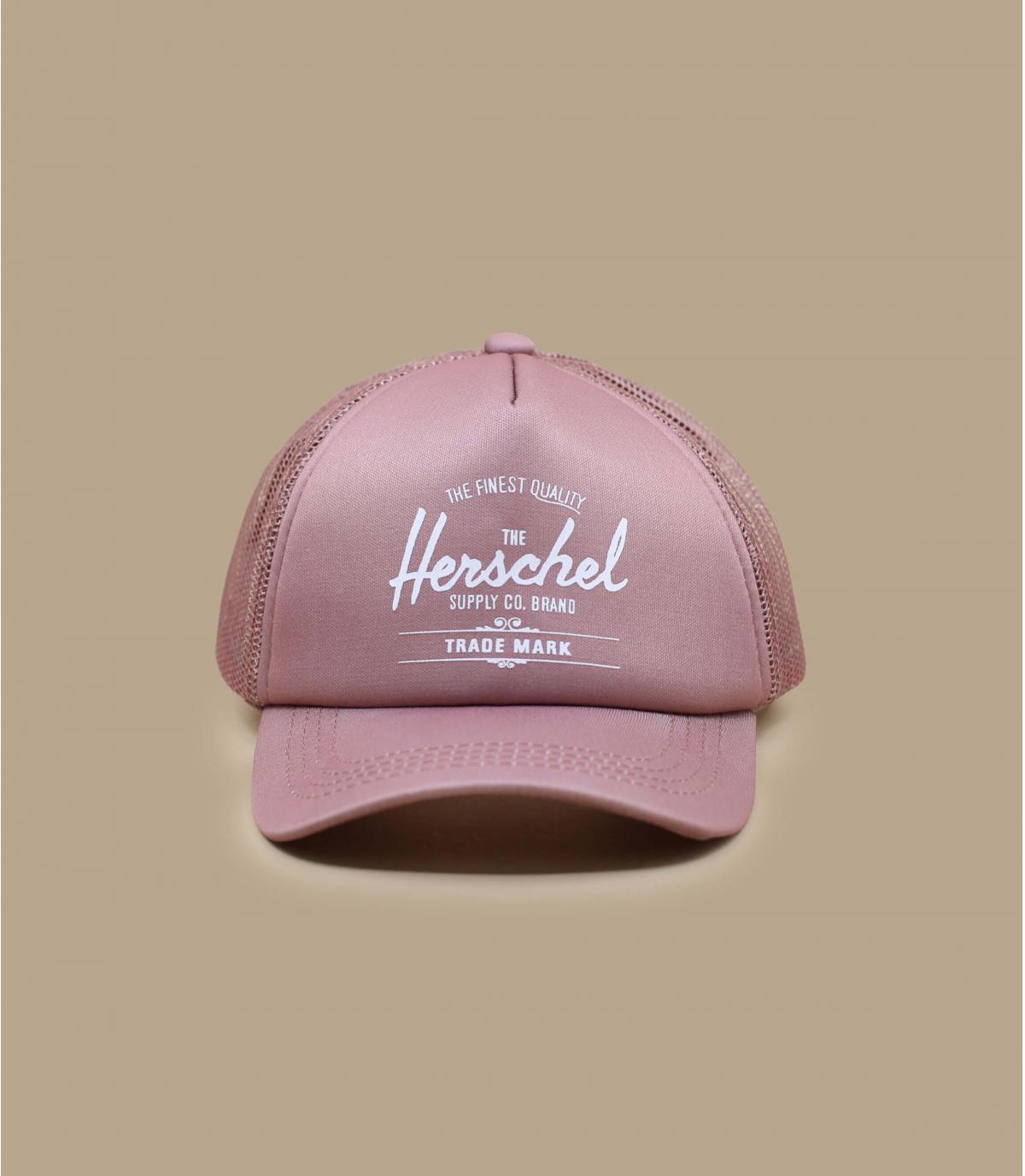 casquette bébé Herschel rose