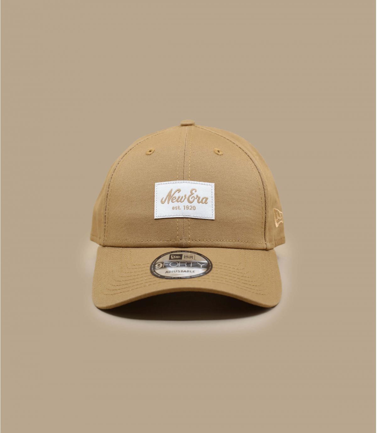 casquette New Era beige