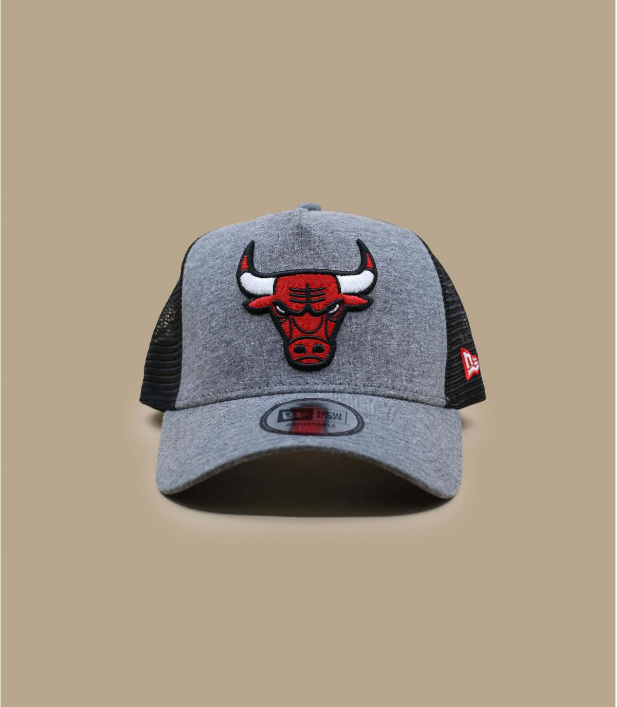 trucker Bulls gris