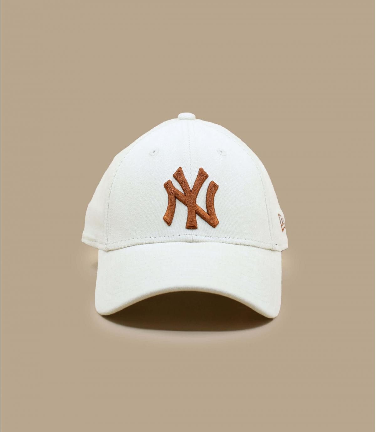 Détails Casquette Wmn Cord NY 940 offwhite toffee - image 2