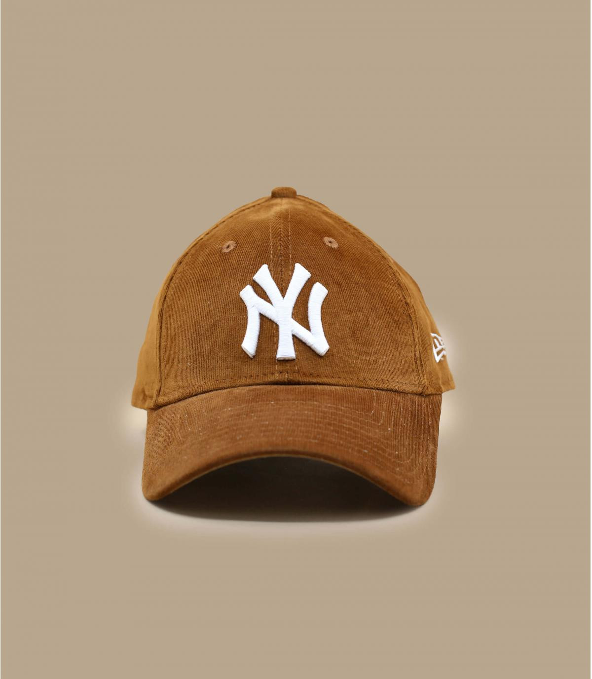 Détails Casquette Wmn Cord NY 940 toffee - image 2