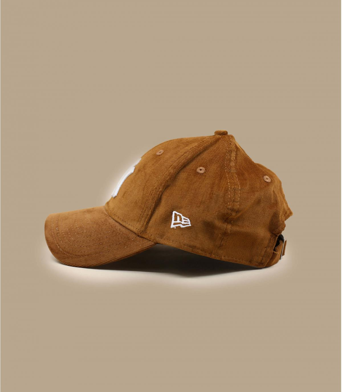 Détails Casquette Wmn Cord NY 940 toffee - image 3