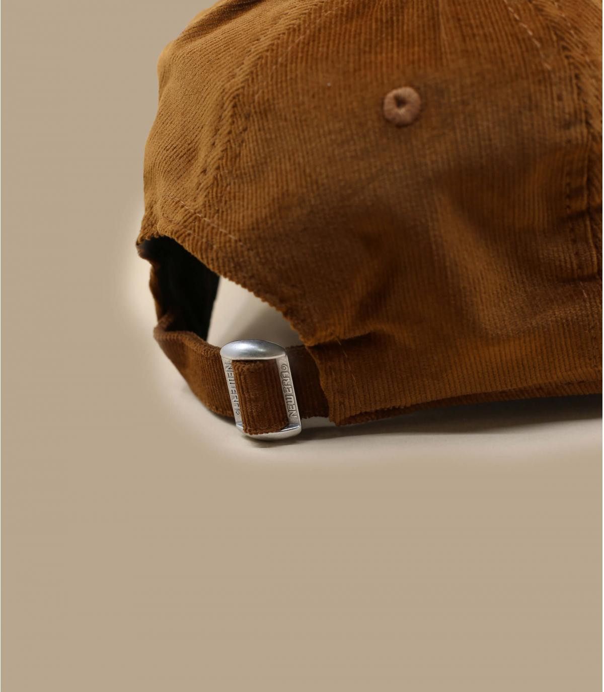 Détails Casquette Wmn Cord NY 940 toffee - image 4