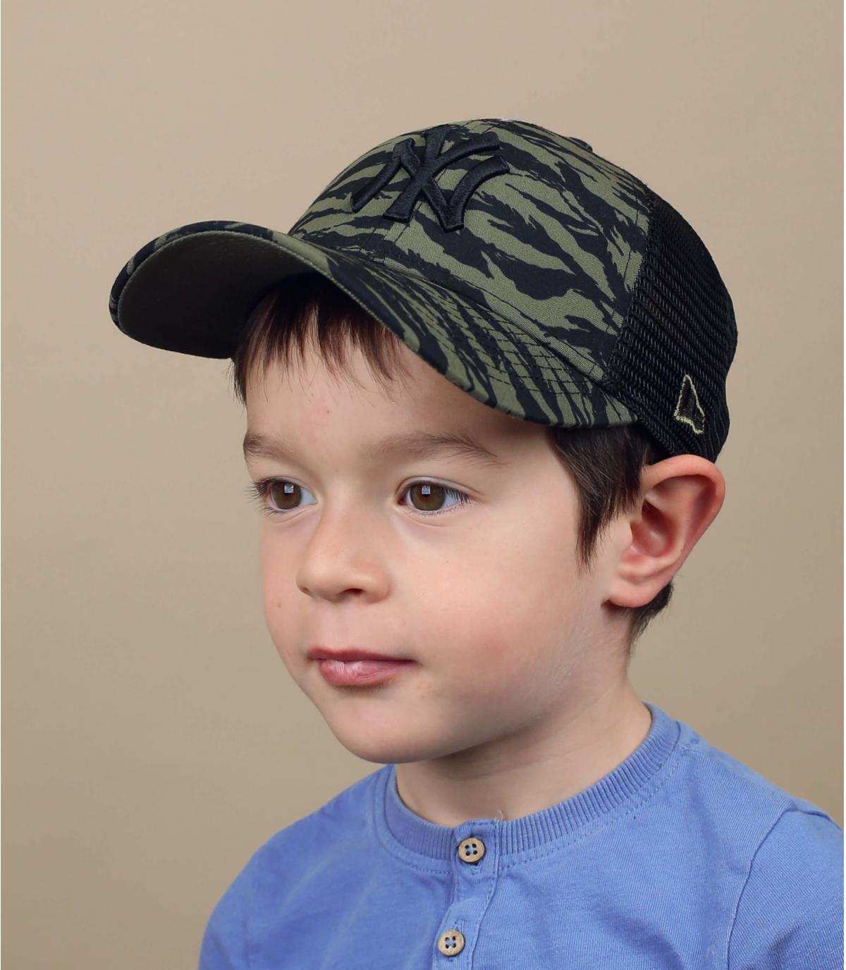 trucker enfant vert NY