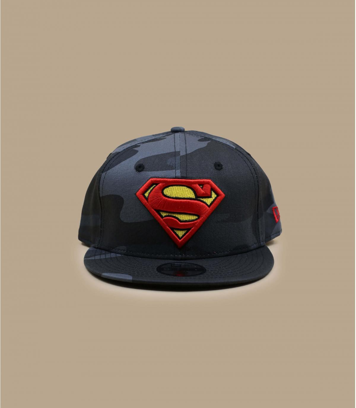 Détails Snapback Kids Superman Camo 950 midnight - image 2