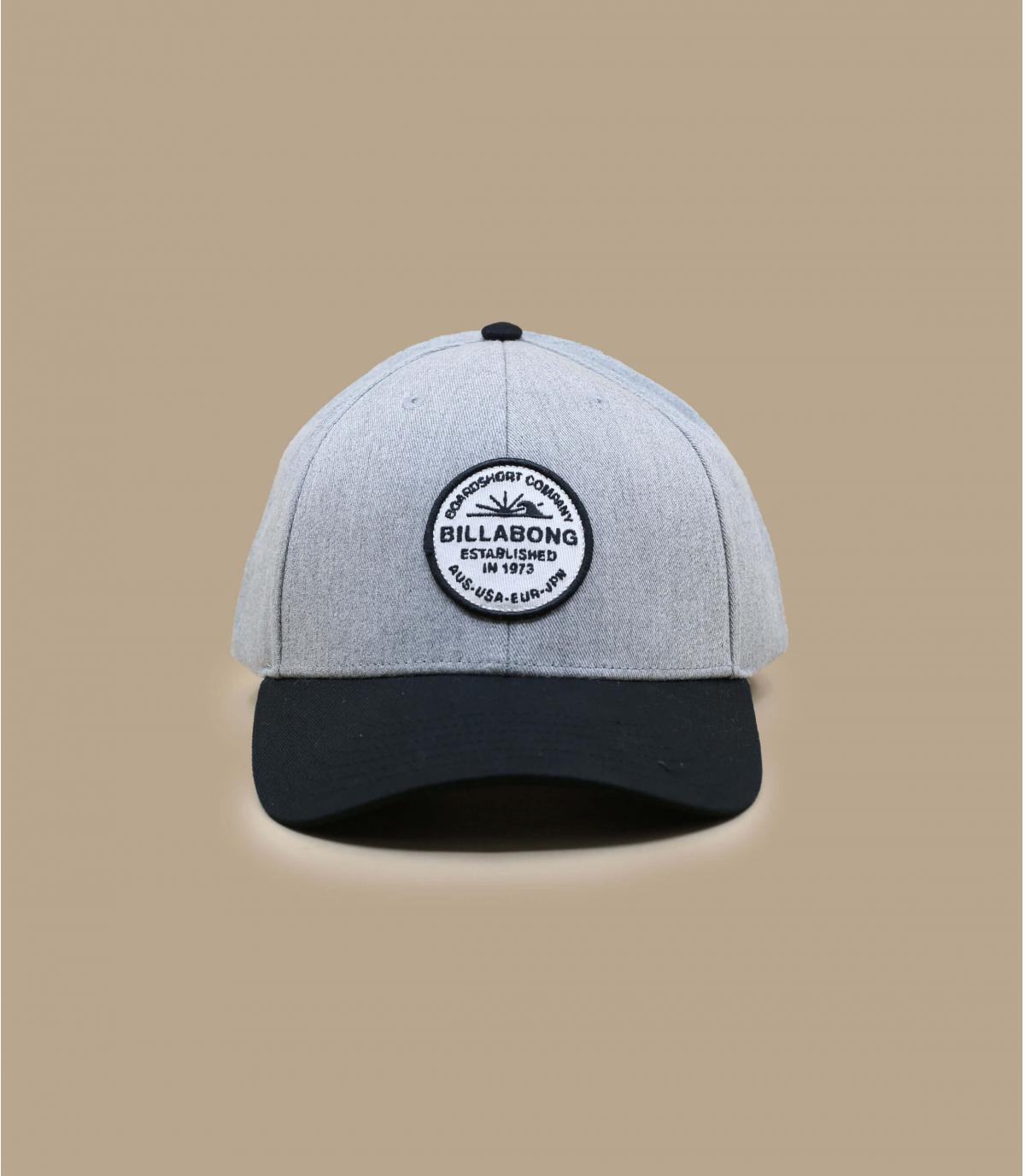 Détails Walled Snapback grey heather - image 2