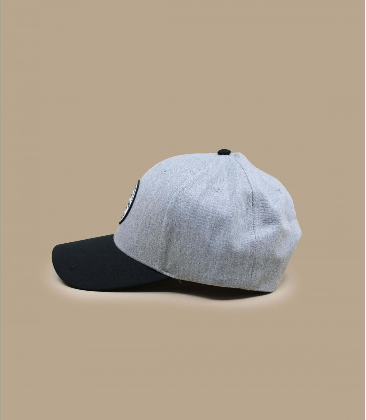 Détails Walled Snapback grey heather - image 3