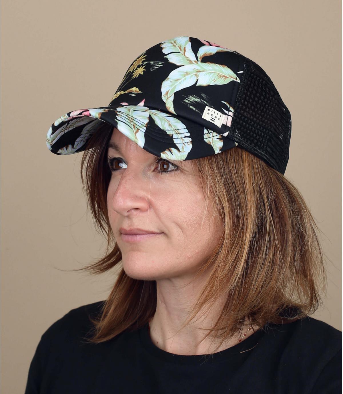 casquette femme fleurs Billabong