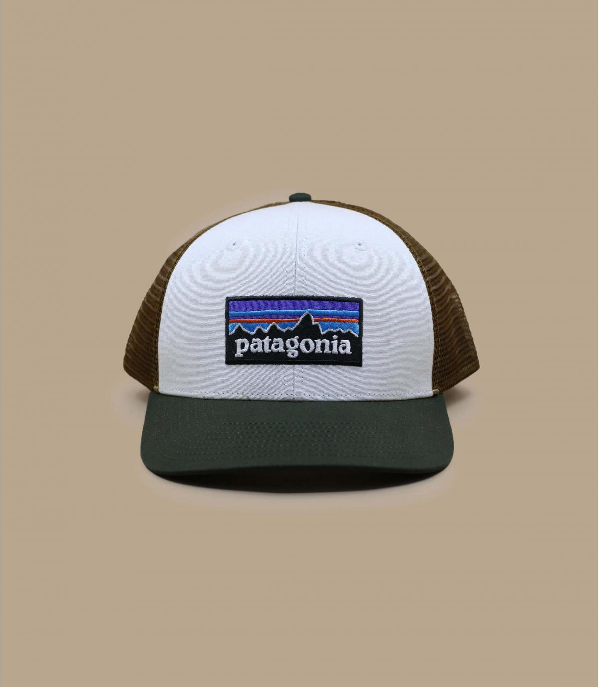 trucker Patagonia blanc